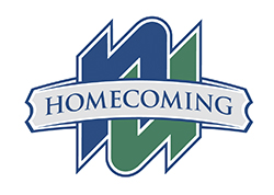 NU Homecoming logo