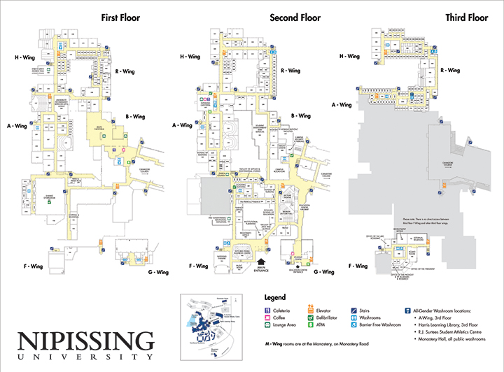 nipissingu_campus_map_all_floors_may2017