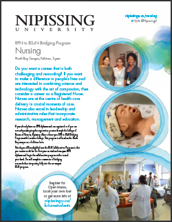 Bachelor of Science in Nursing (BScN) Bridging Program