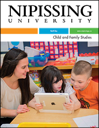 Child and Family Studies brochure cover