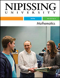 Math brochure cover
