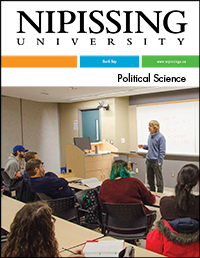 Political Science program cover