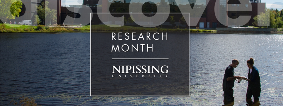 Research month at Nipissing