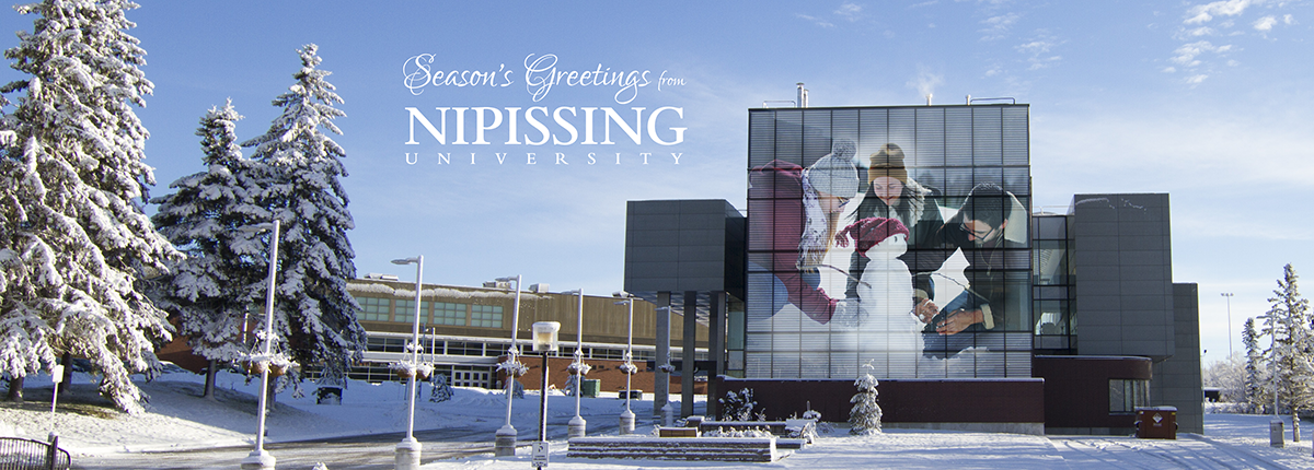 Season's Greetings from Nipissing University