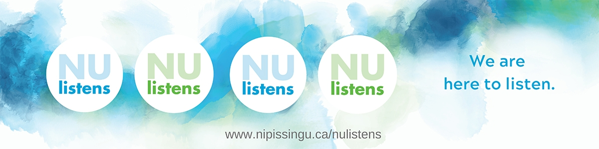 NUlistens - We are here to listen.