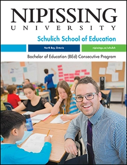 Bachelor of Education (BEd) Consecutive program brochure cover