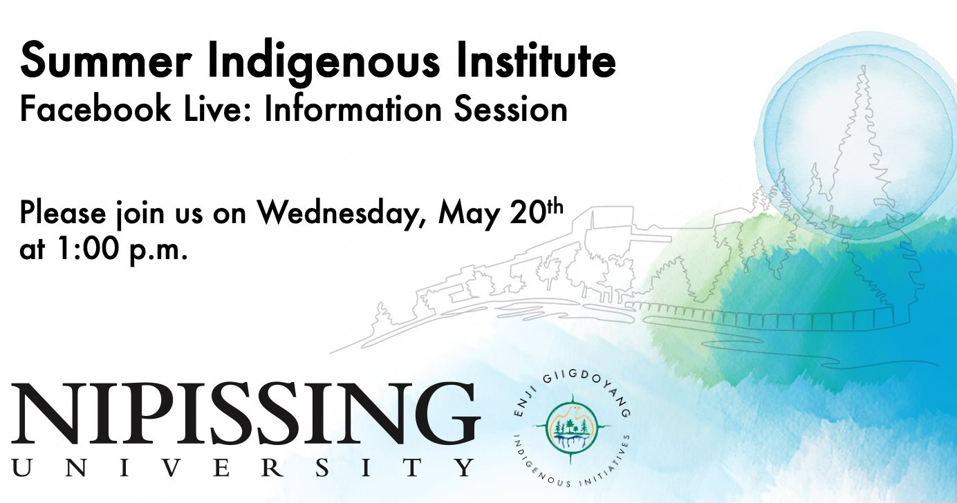 Summer Indigenous Institute Information Session