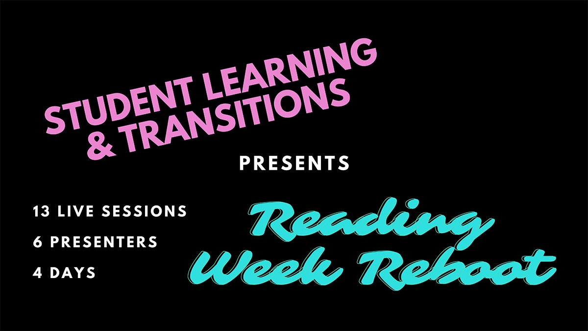 Reading Week Reboot