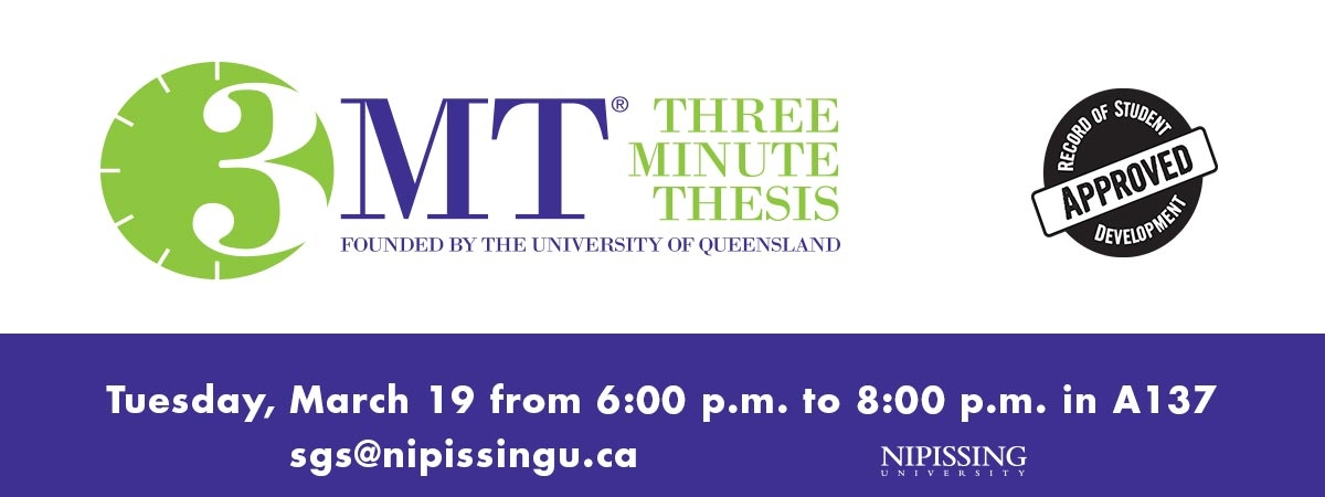 3MT® Three Minute Thesis Competition