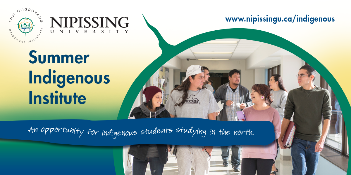 Summer Indigenous Institute at Nipissing University