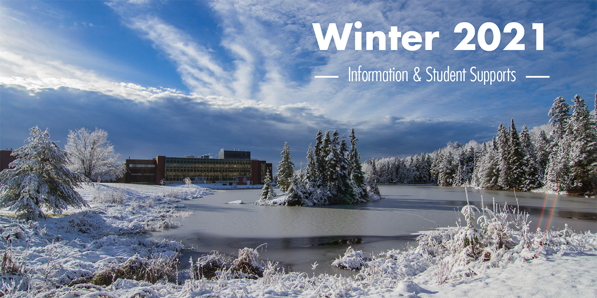 Winter 2021 Information and Student Supports