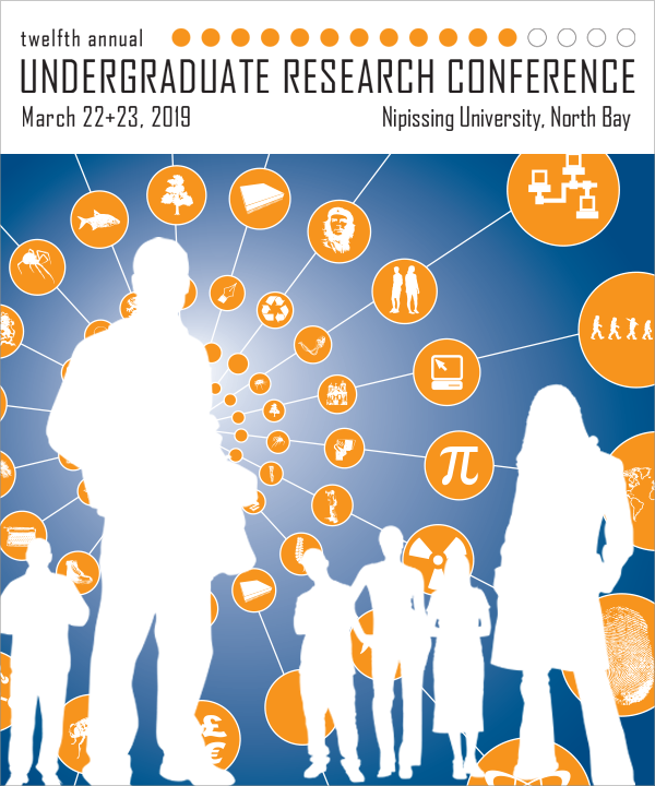 12th annual Undergraduate Research Conference - March 22-23, 2019 at Nipissing University