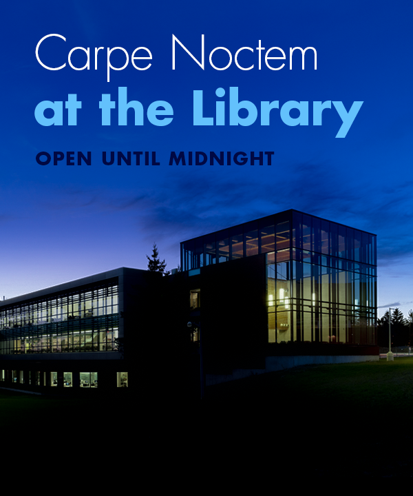Carpe Noctem at the library