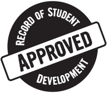 Record of Student Development approved