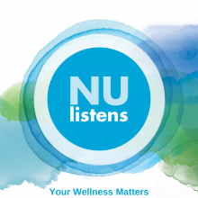 NUlistens Logo Your Wellness Matters