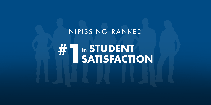 Nipissing ranked #1 in student satisfaction